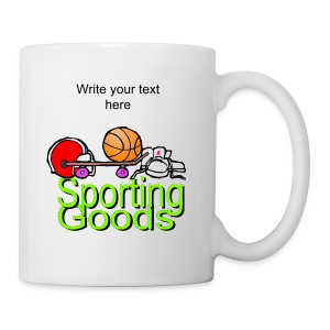 Sporting Goods Coffee And Tea Mug - Coffee/Tea Mug