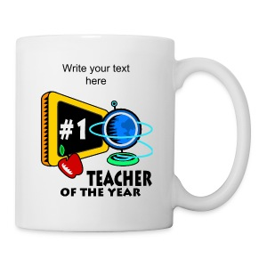 Teacher Of The Year Tea Mug - Coffee/Tea Mug