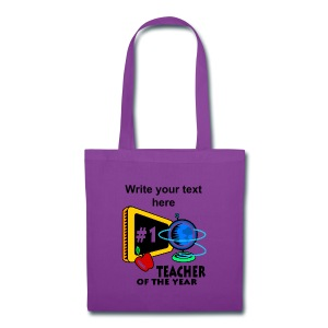 Teacher Of The Year Personalized Tote Bag - Tote Bag