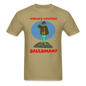 World's Greatest Salesman Men's T-Shirt - Men's T-Shirt