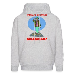 World's Greatest Salesman Men's Hooded Sweatshirt - Men's Hoodie