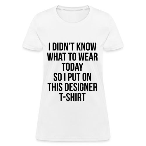 'Designer T-shirt' - Women's T-Shirt