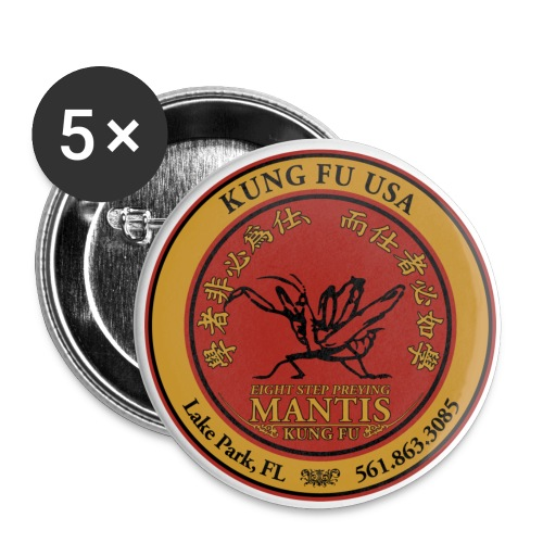 Mantis Buttons - Buttons small 1'' (5-pack)