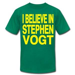 I believe in Stephen Vogt - Men's Fine Jersey T-Shirt