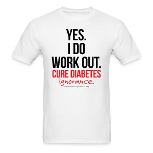 Yes, I Do Work Out-Mens - Men's T-Shirt