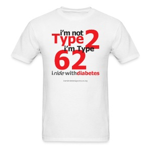 I'm Not Type 2, I'm Type 62-Mens - Men's T-Shirt