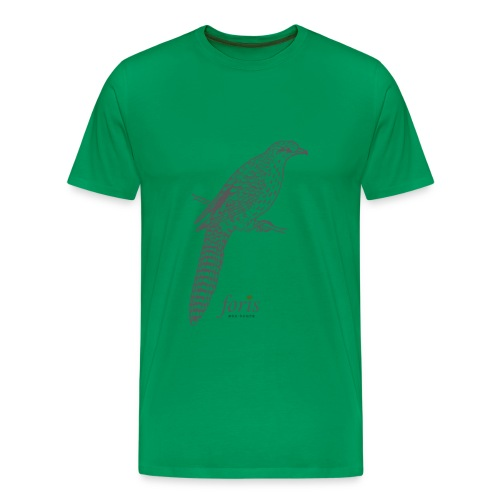 Long tailed cuckoo - Men's Premium T-Shirt