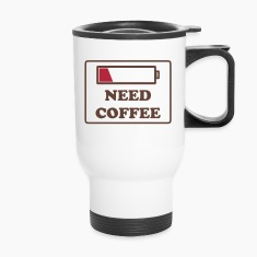 need coffee funny Bottles & Mugs