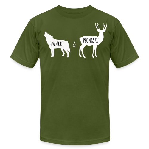 Men's's Padfoot & Prongs T-Shirt (White Logo) - Men's  Jersey T-Shirt