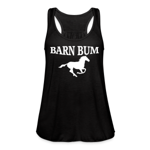 Barn Bum  - Women's Flowy Tank Top by Bella