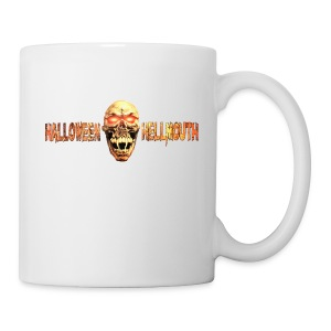 Hellmouth Logo Coffe Mug - White - Coffee/Tea Mug