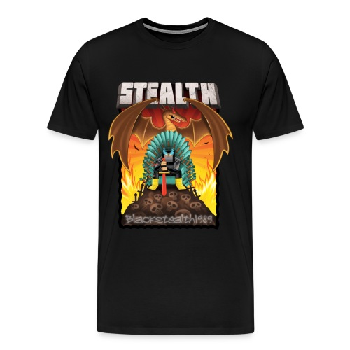 The Ninja Thrown - Men's Premium T-Shirt
