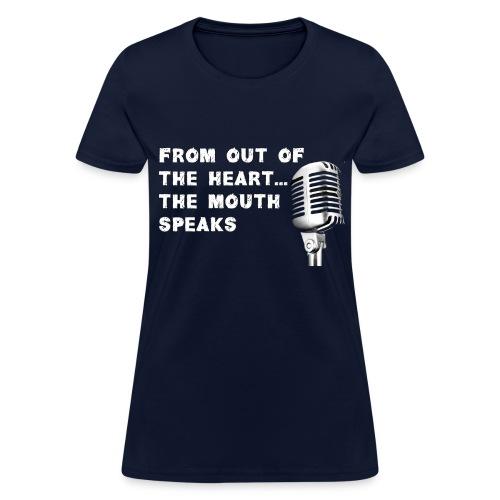 Ladies Speaks - Women's T-Shirt