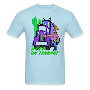Keep On Truckn' T-Shirt - Men's T-Shirt