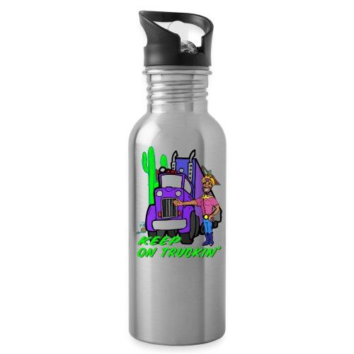 Keep On Truckn' AluminumWater Bottle - Water Bottle