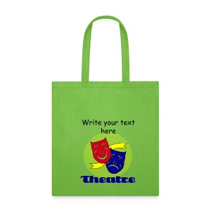 Theatre Canvas Tote Bag - Tote Bag
