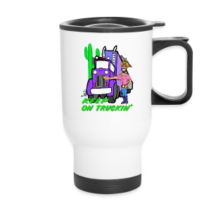Keep On Truckn' Coffee Travel Mug - Travel Mug