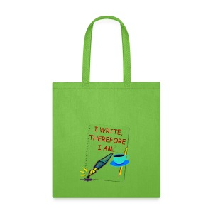 Writer Canvas Tote Bag - Tote Bag