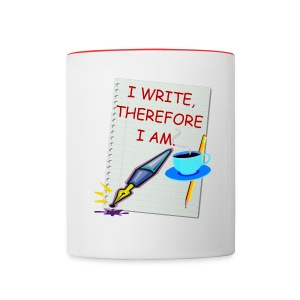 Writer Coffee Mug - Contrast Coffee Mug