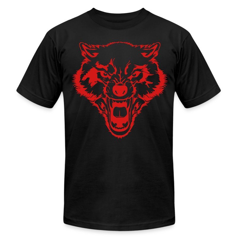 Team TKO Wolfpac T V-1 - Men's T-Shirt by American Apparel