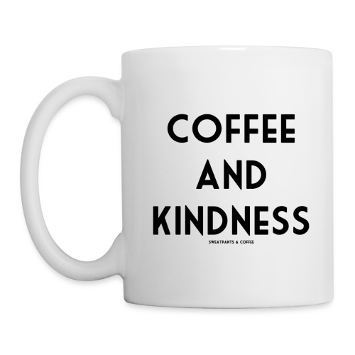 Coffee & Kindness Mug - Coffee/Tea Mug