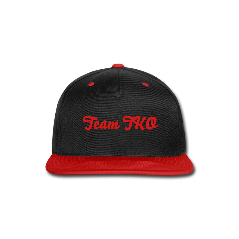Team TKO Red Snapback  - Snap-back Baseball Cap