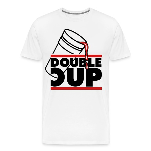 DOUBLE CUP TEE - Men's Premium T-Shirt