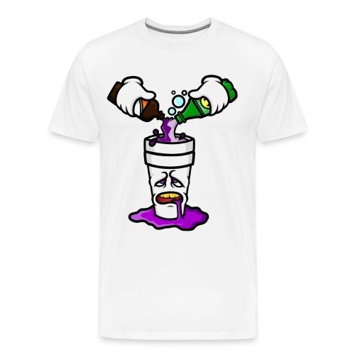 DOUBLE CUP GRAPHIC TEE - Men's Premium T-Shirt