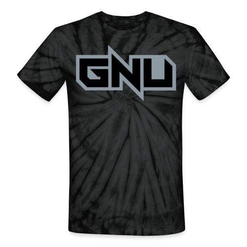 trippy GNU - Unisex Tie Dye T-Shirt