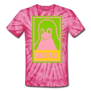 pink lsd tux - Unisex Tie Dye T-Shirt