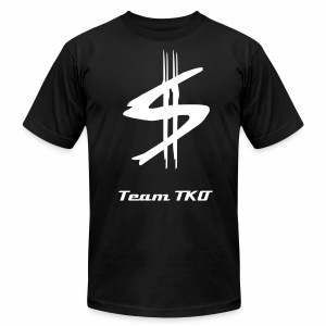 Team TKO MONEY T-SHIRT V-2 - Men's T-Shirt by American Apparel