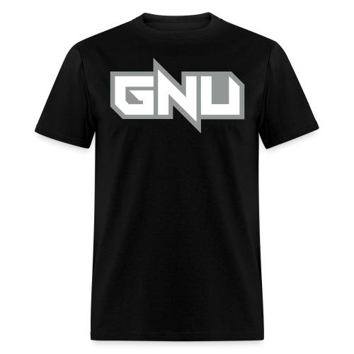 monochrome GNU - Men's T-Shirt