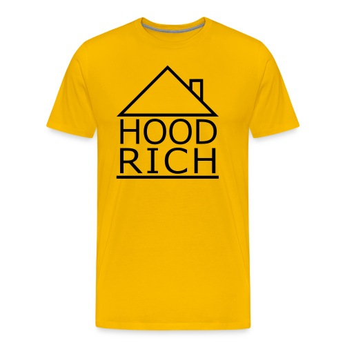 HOOD RICH - Men's Premium T-Shirt