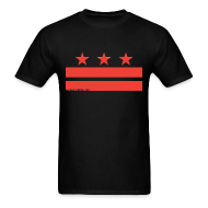 T-Shirts ~ Men's T-Shirt ~ Washington DC T-Shirt V-2