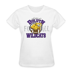 Women's Duluth Wildcats White 8yr old - Women's T-Shirt