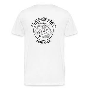Men's Black Logo - Men's Premium T-Shirt
