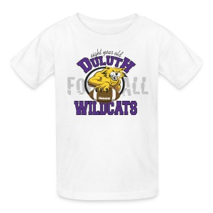 Kids Duluth Wildcats White  8yr old - Kids' T-Shirt