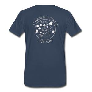 Men's Gray Logo - Men's Premium T-Shirt