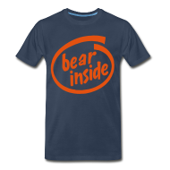 T-Shirts ~ Men's Premium T-Shirt ~ Bear Inside