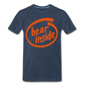 Bear Inside - Men's Premium T-Shirt