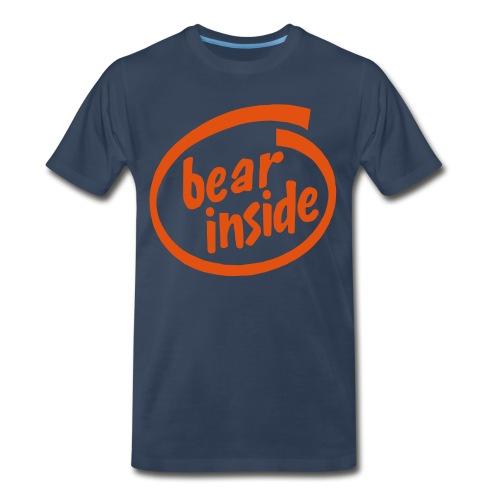 Bear Inside - Men's Premium T-Shirt