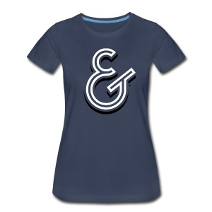 WDC-Ampersand Shadow-Ladies - Women's Premium T-Shirt