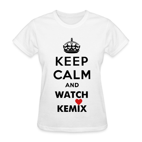 Keep Calm Damska - Women's T-Shirt