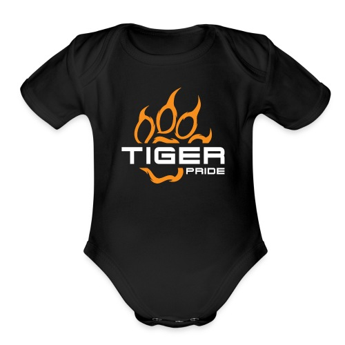 IV Tiger Pride Toddler One Piece - Organic Short Sleeve Baby Bodysuit