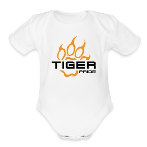 IV Tiger Pride Toddler One Piece - Short Sleeve Baby Bodysuit