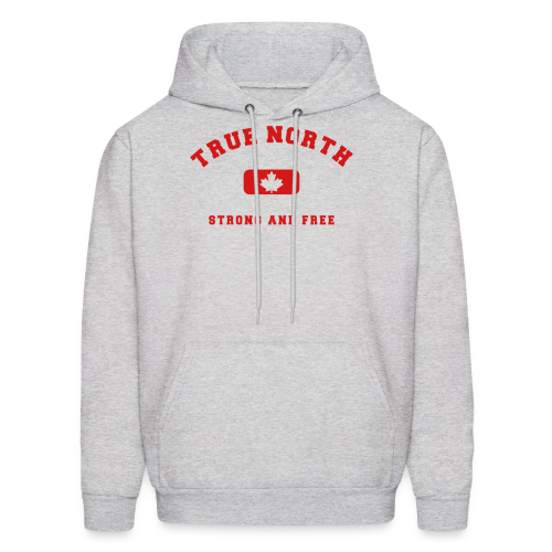 True North Strong and Free - Men's Hoodie