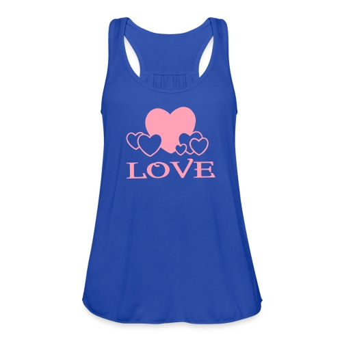 Love tank top - Women's Flowy Tank Top by Bella