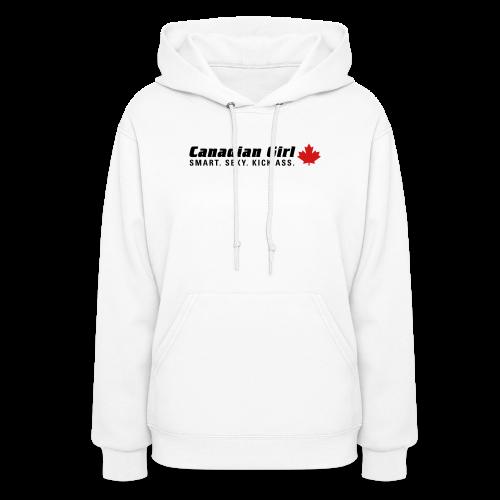 Canadian Girl - Women's Hoodie