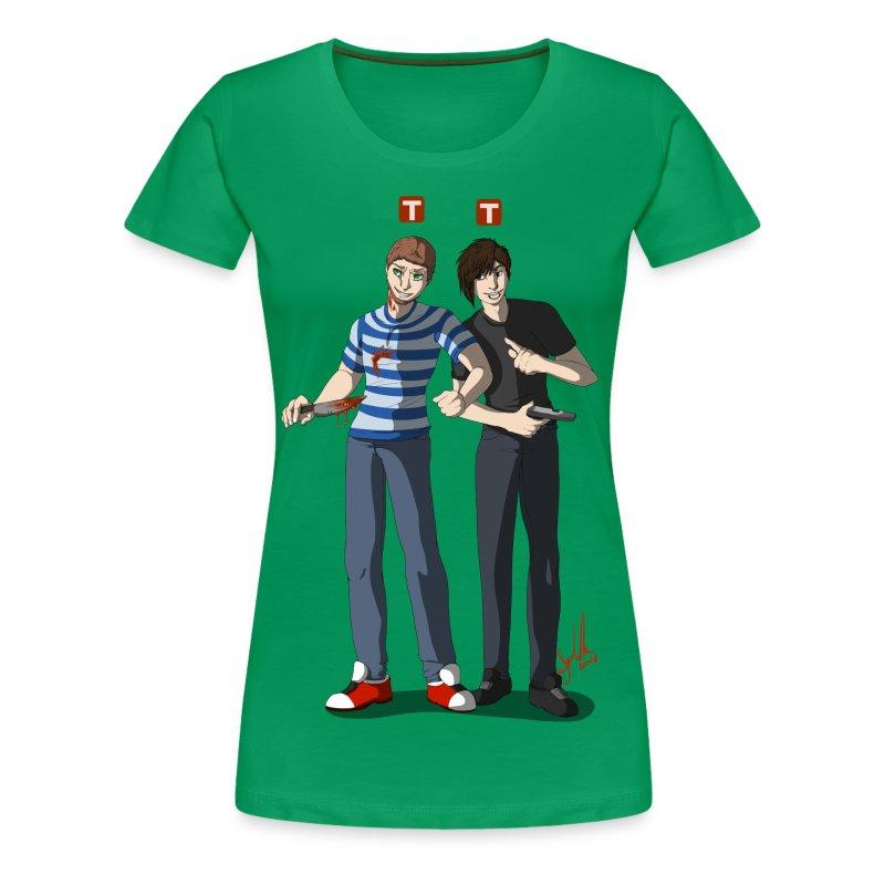 dlivedesign5.png - Women's Premium T-Shirt