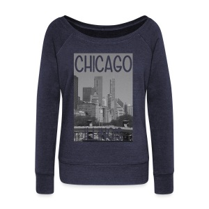 Big Chi Pic - Women's Wideneck Sweatshirt